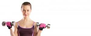 female personal trainer