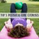 Postnatal Core Exercises